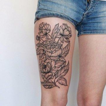 Натуралистические татуировки