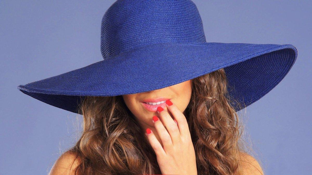 Картинки женщин в шляпах с закрытыми лицами, открытка цена онлайн