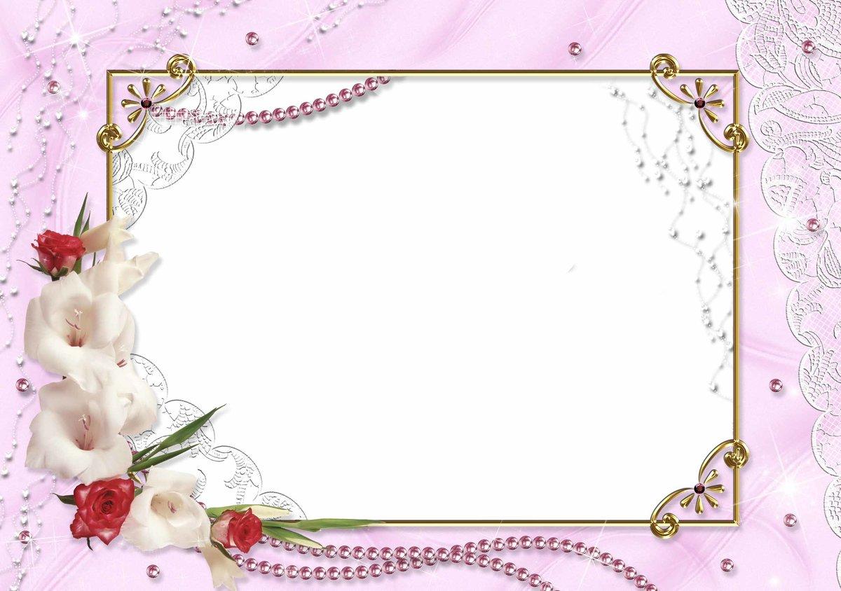 Розы, рамки для разных открыток