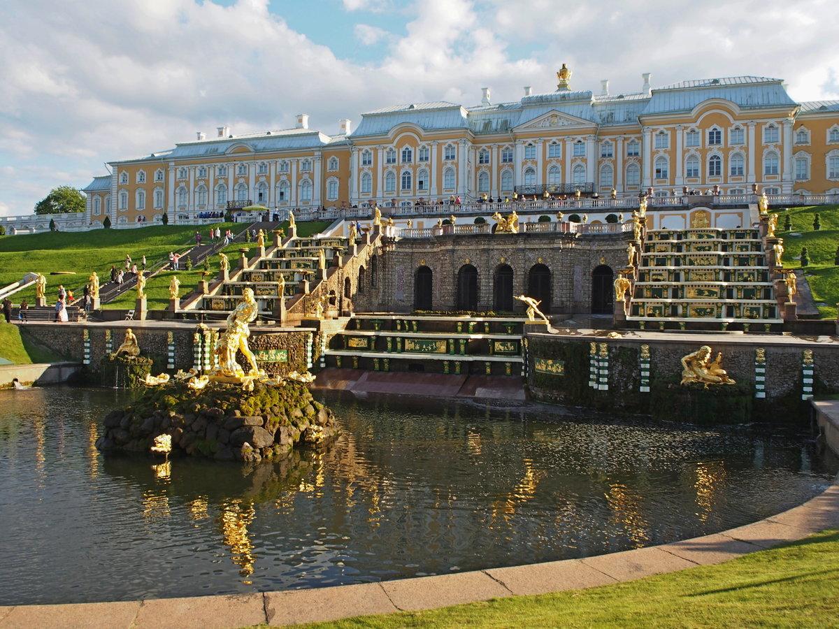 большой петергофский дворец фото счастья добра