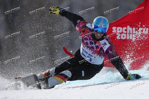 Олимпиада 2014. Сноуборд. Мужчины. Параллельный гигантский с ... 2318f469265