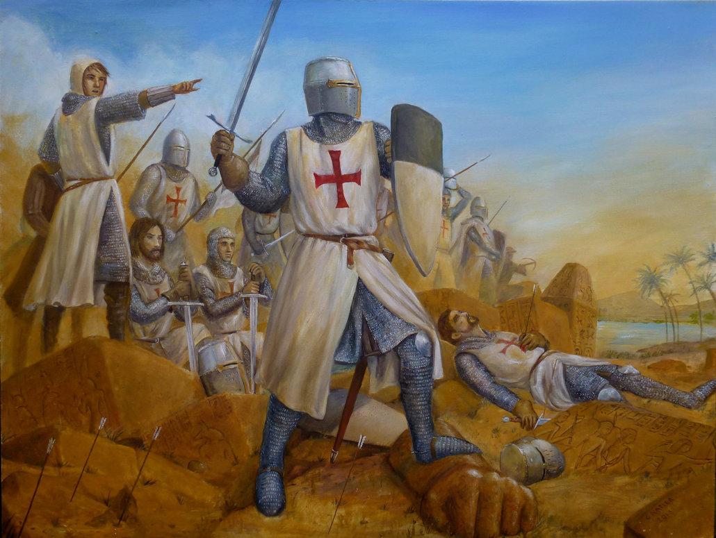 картинки про крестовые походы каждой горы свои