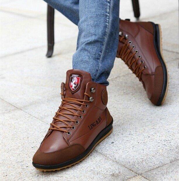 a7289b7f8 Современные мужские туфли на шнуровке Современные мужские туфли на шнуровке