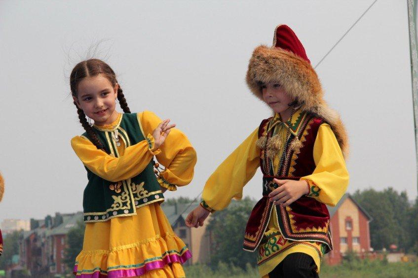 Башкирский детский костюм фото
