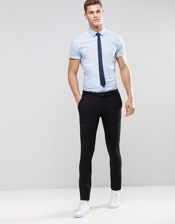 40 карточек в коллекции «Узкий галстук: с чем носить парню ...