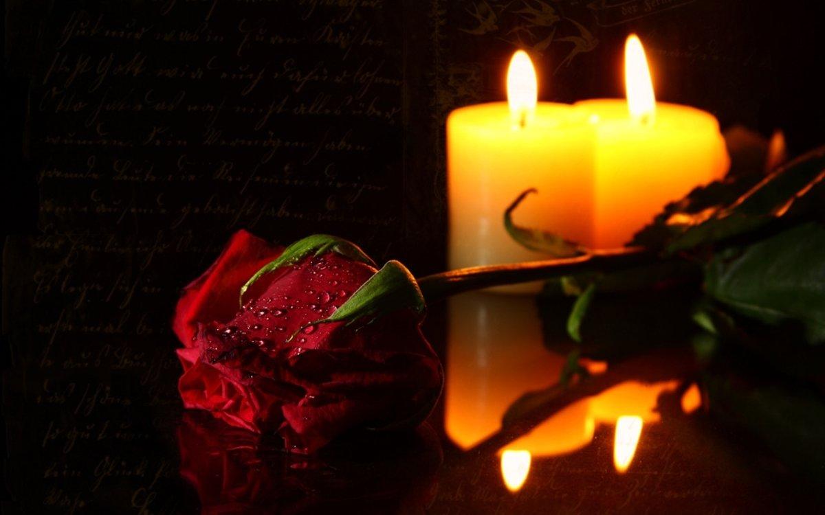 Картинки с траурной свечой, прикольные приветы