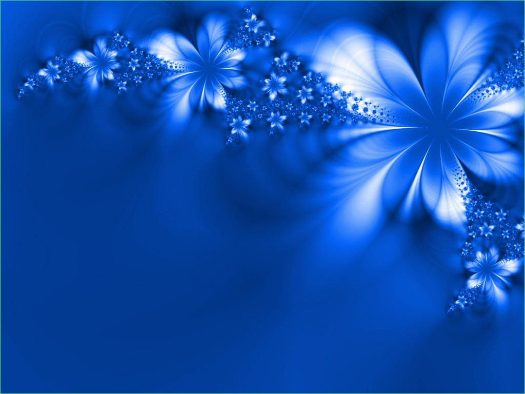 Blue And Silver Wedding Background