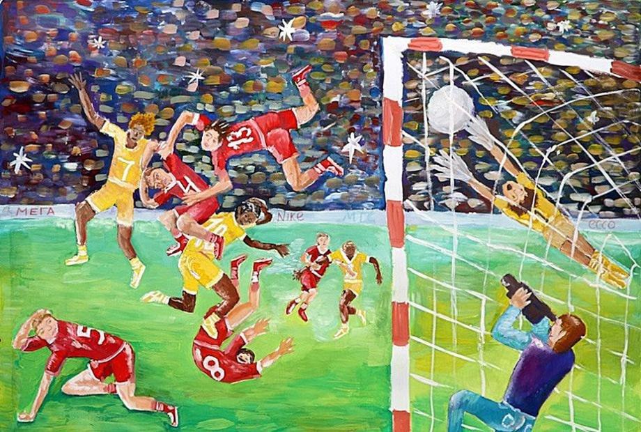 светлана картинки о футболе композиционные них