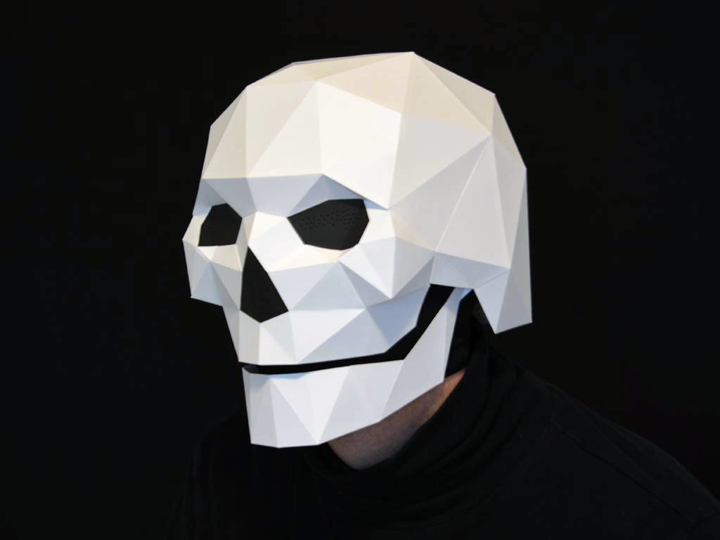 Origami Skull Images Craft Decoration Ideas Card From User