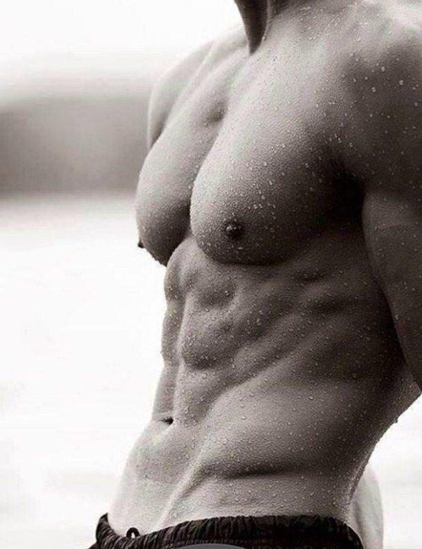 Красивые голые торсы без лица