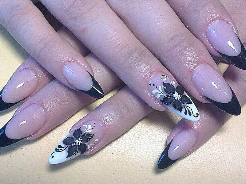 Картинки дизайна ногтей нарощенных