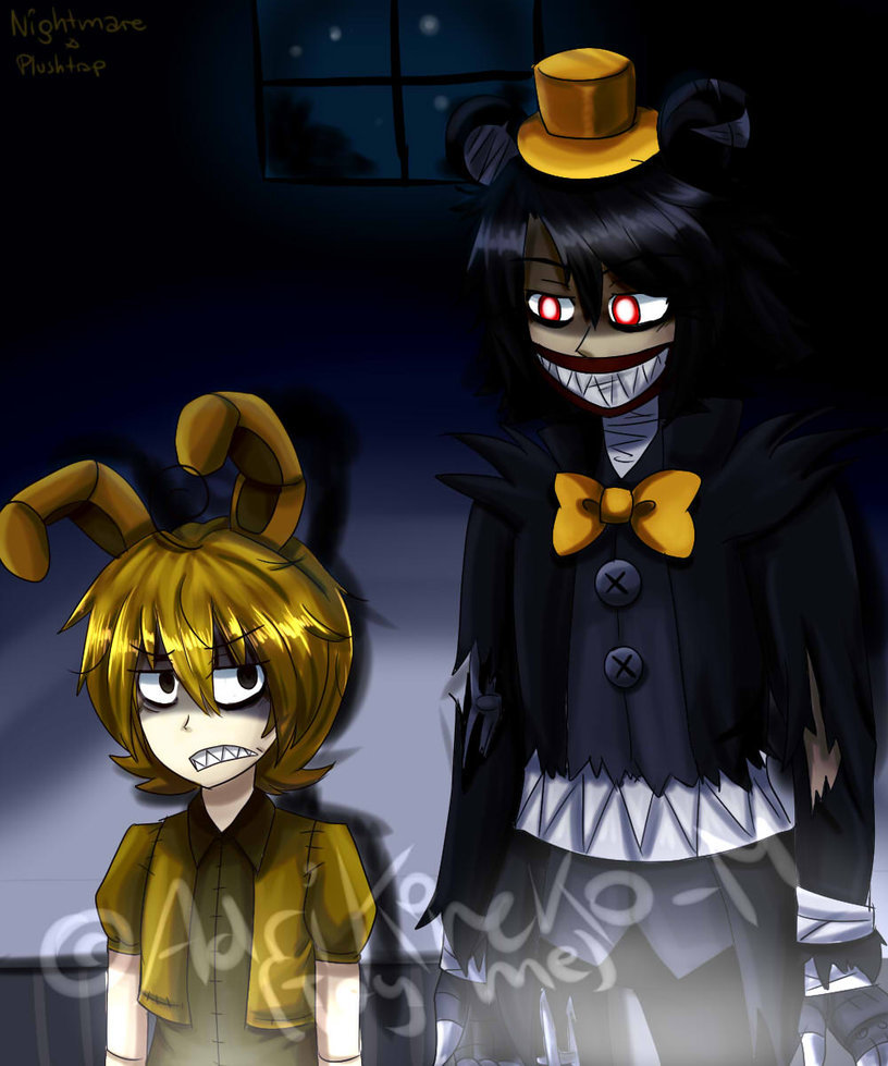 Nightmare And Plushtrap By Adrikoneko Mizuiro Db9x6il Card From