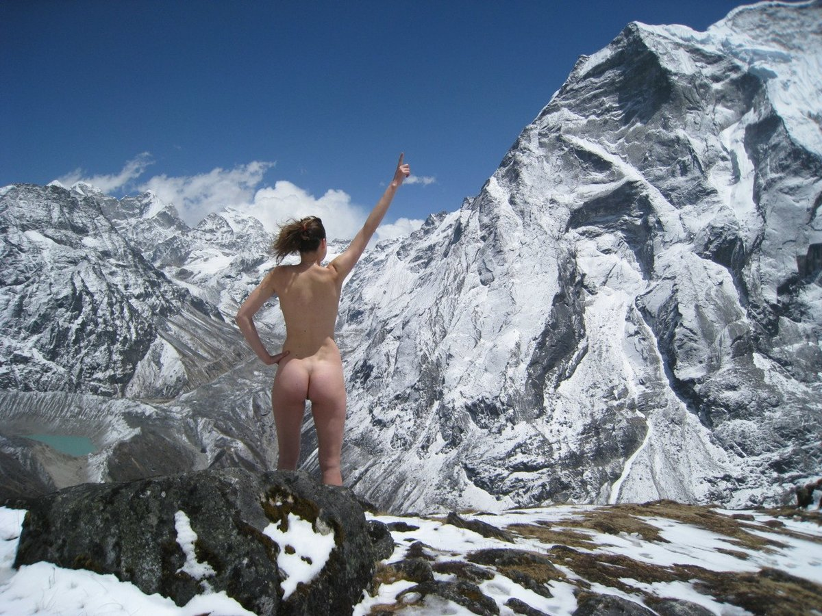 Sen naked mountain climbers def