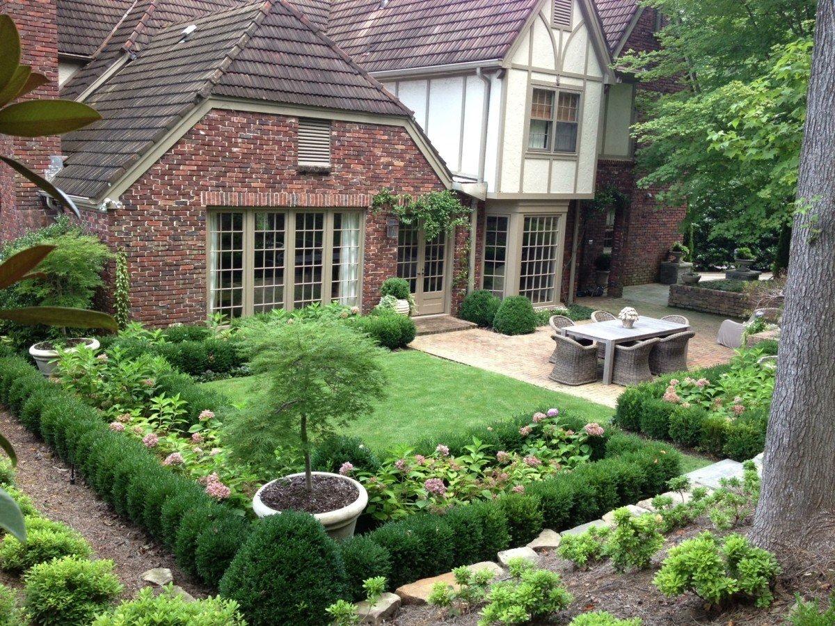 Ландшафтный дизайн загородного дома фотогалерея