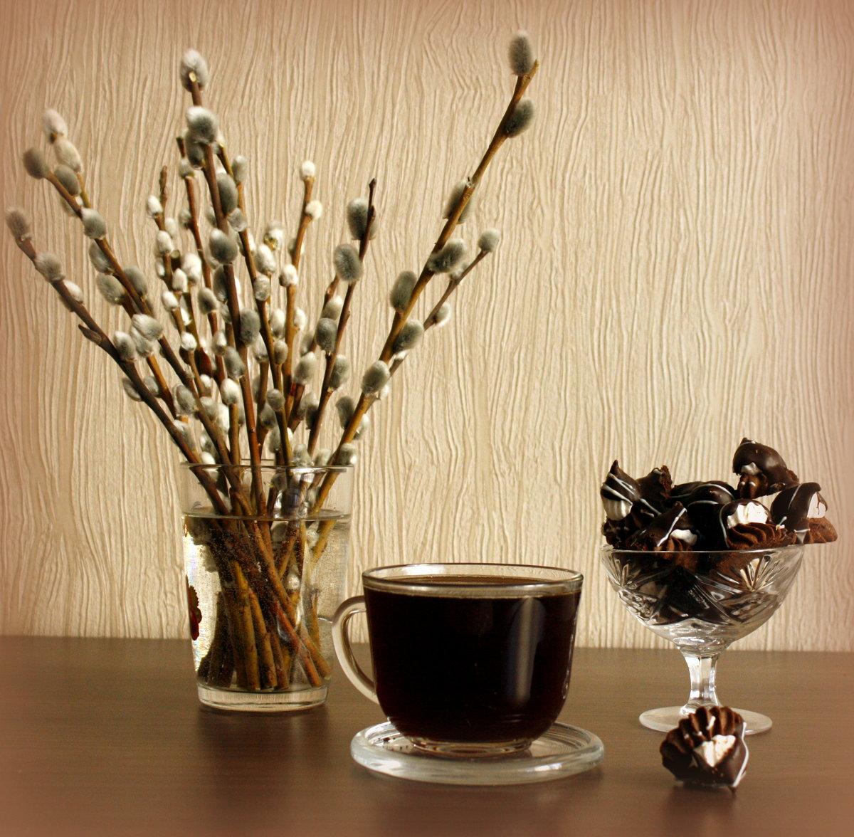 натюрморт чай верба фото способствуют