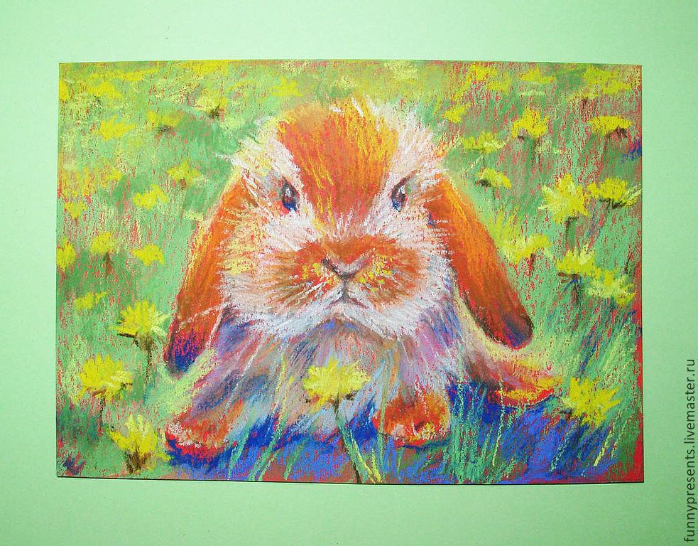 Рисунки пастелью поэтапно для начинающих животные