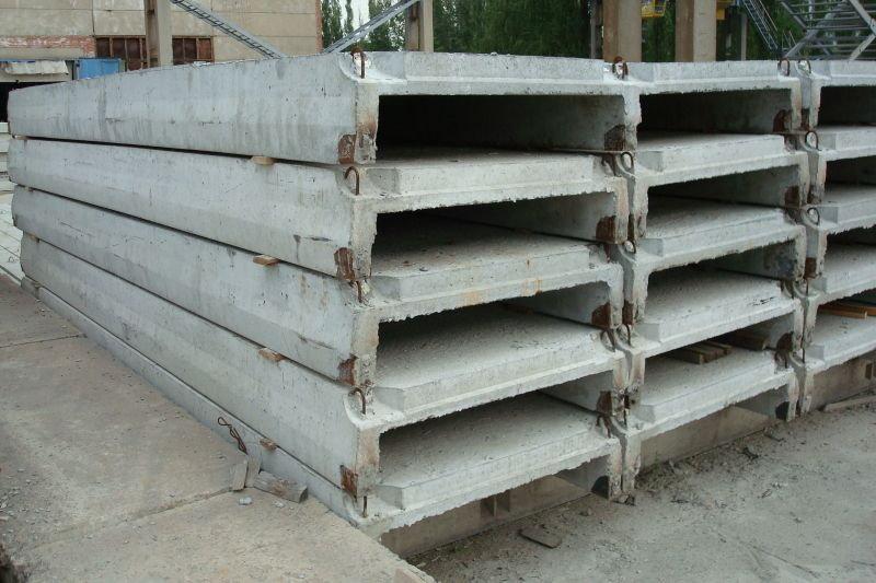 плита бетонные ребристые