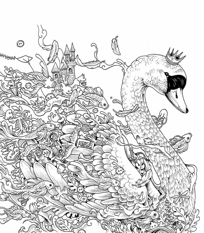 Рисунки с мелкими деталями животные