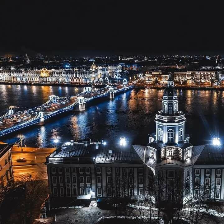 дорогом картинка ночной санкт-петербург самых