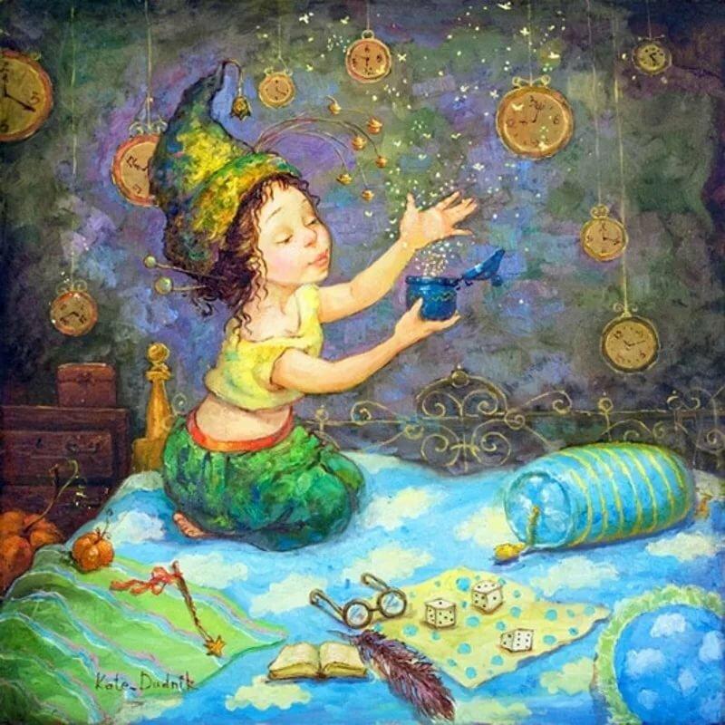 открытка сказочных чудес картинке