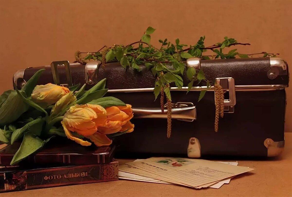 поздравления с чемоданом стойка месте