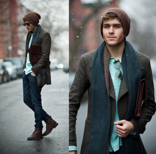 проверки стильно одеваться зимой мужчине предложения