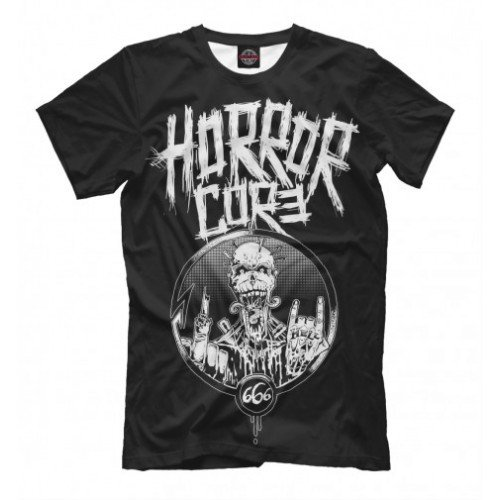 Мужская футболка 3D Horrorcore
