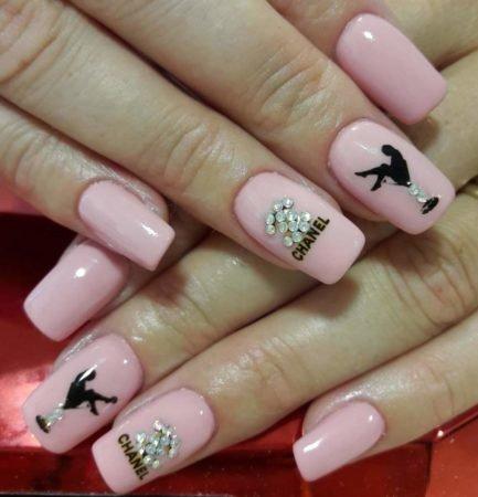 Дизайн ногтей к выпускному фото