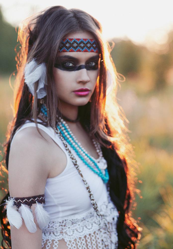 люди хотят фотосессии в образе индейцев вообще-то