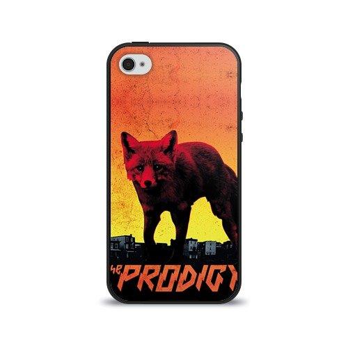 Чехол для Apple iPhone 4/4S силиконовый глянцевый The Prodigy