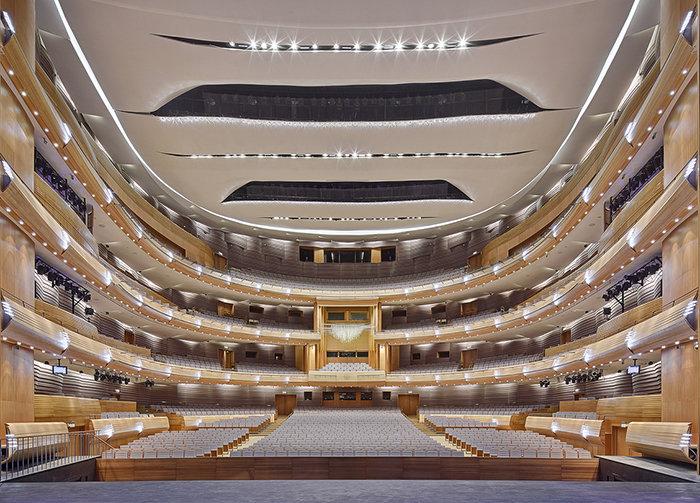 Вторая сцена Мариинского театра, интерьер