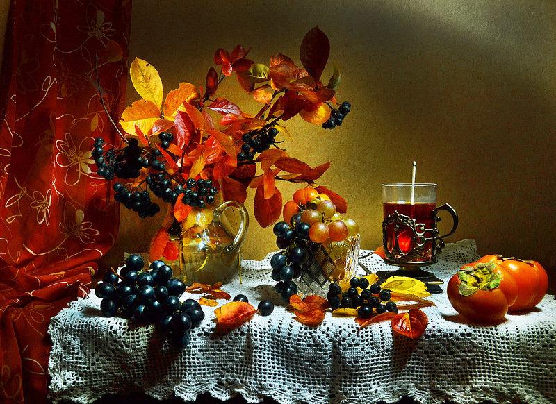 Приятного осеннего вечера картинки с надписями
