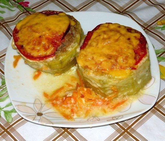 праздничных мероприятий, кабачки фаршированные в духовке с помидорами и сыром тебе