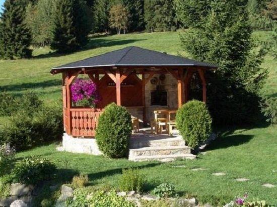 Фото садовых домиков и барбекю купить решетку для барбекю чугунную свердловск