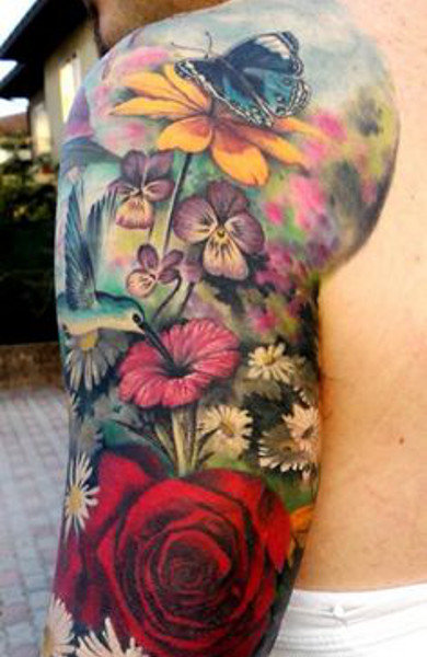 Узнай значение татуировки цветы, смысловую нагрузку этого символа, посмотри красивые фото тату и выберите себе эскиз для тату.