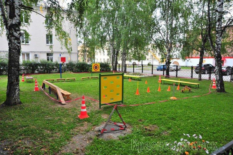 Соревнования в детском саду