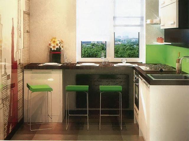 """Стол-подоконник на кухне"""" - карточка пользователя natali.and."""