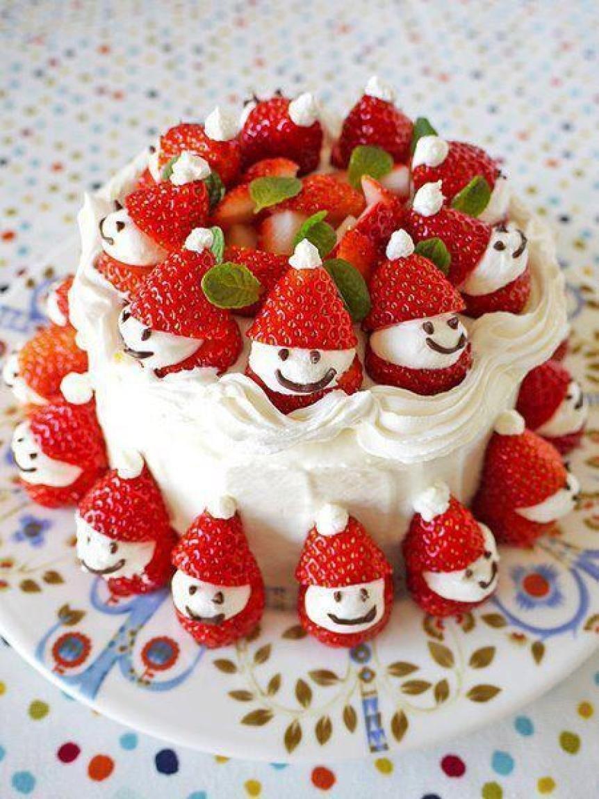 Чудесный новогодний тортик.