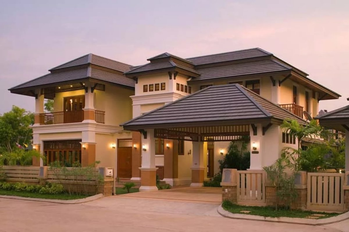 style housing Asian