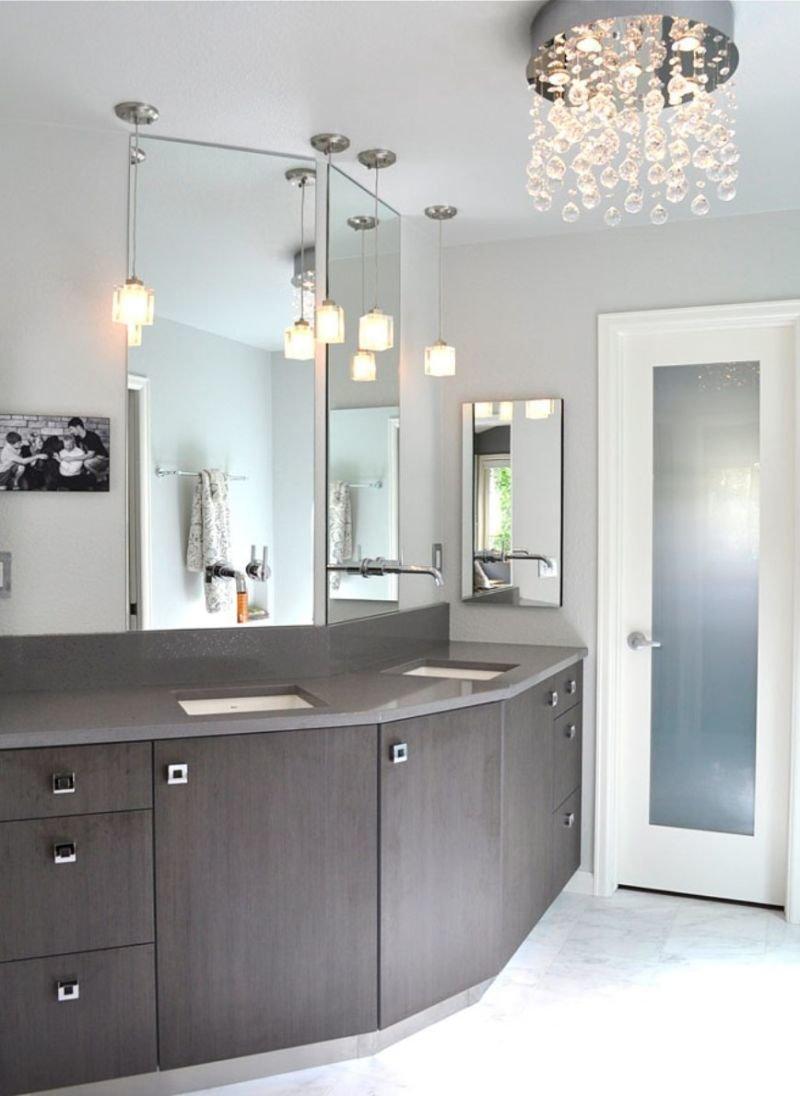 Как оформить качественное освещение в ванной комнате? Предлагаем вашему вниманию фото лучших идей