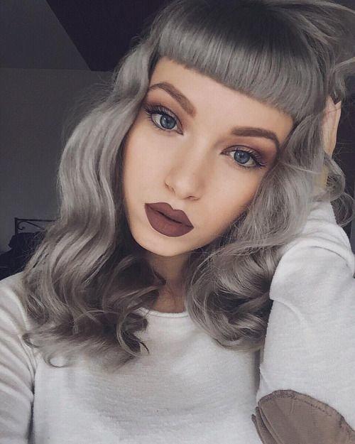 цвет волос красивые фото