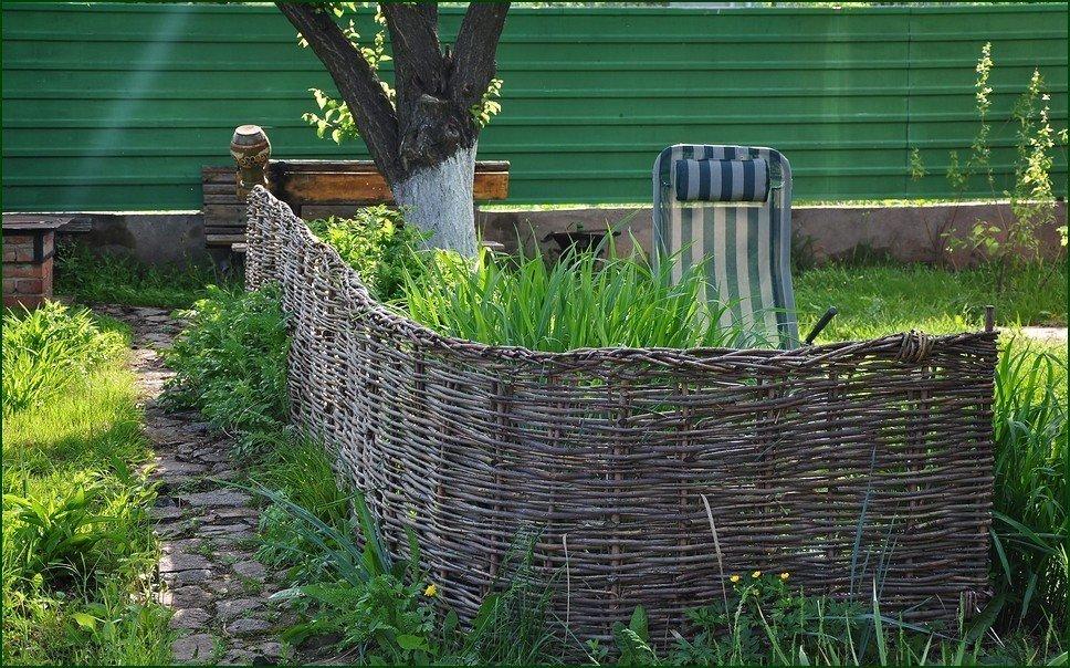 как сделать загородку