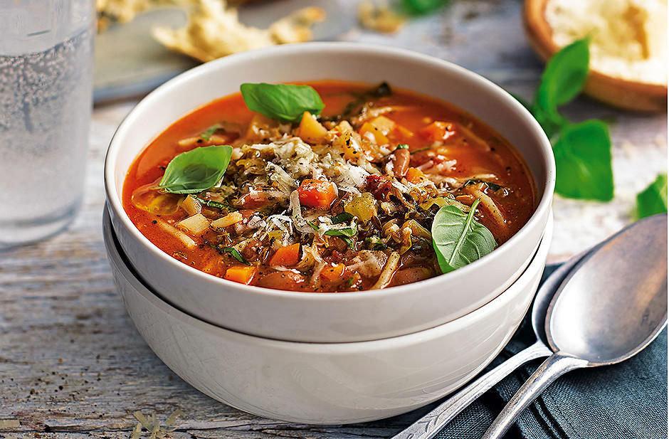 Рецепт минестроне (итальянская кухня)