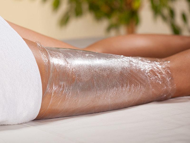 обертывание ног для похудения в домашних условиях