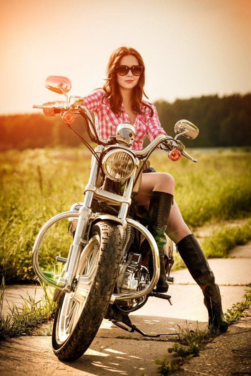 Знакомства С Девушками На Мотоцикле