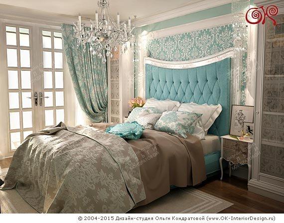 Дизайн спальни 15 кв. м в современном стиле  Классика в дизайне спальни 15 кв. м