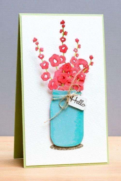 как сделать открытку маме на день рождения своими руками из бисера яркие