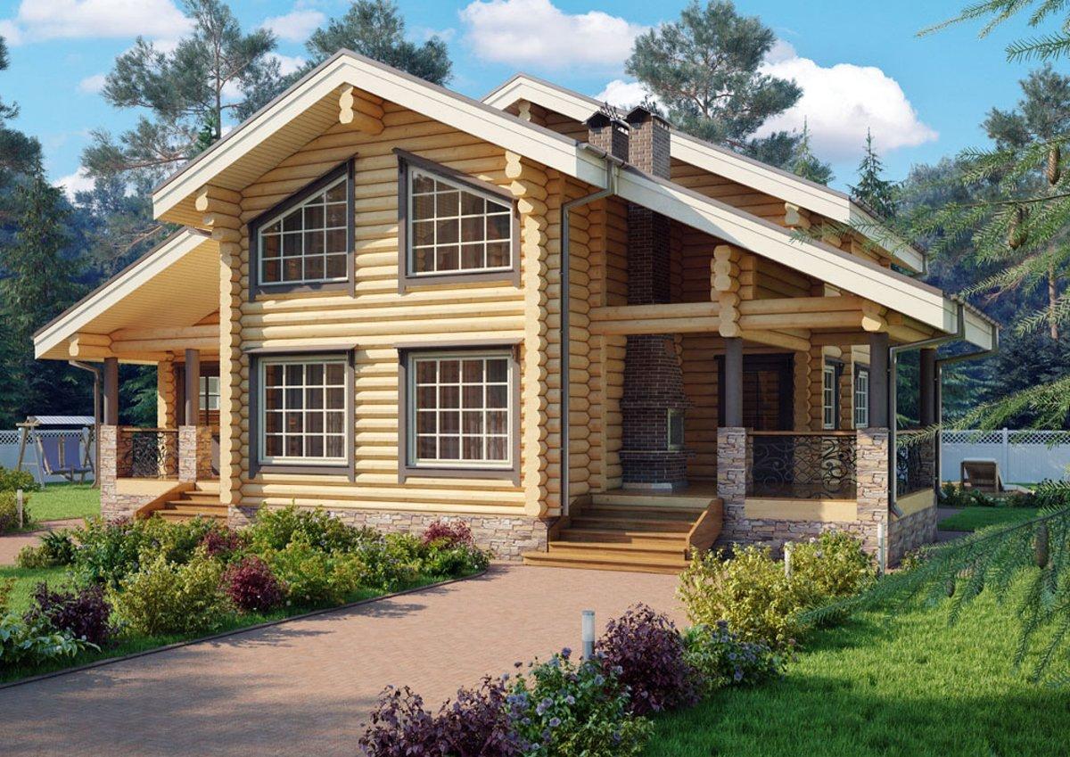 """10 причин построить деревянный дом """"под ключ"""" в компании ПрофиДом"""