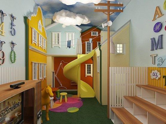 белье вывод игровая комната детям дома 100