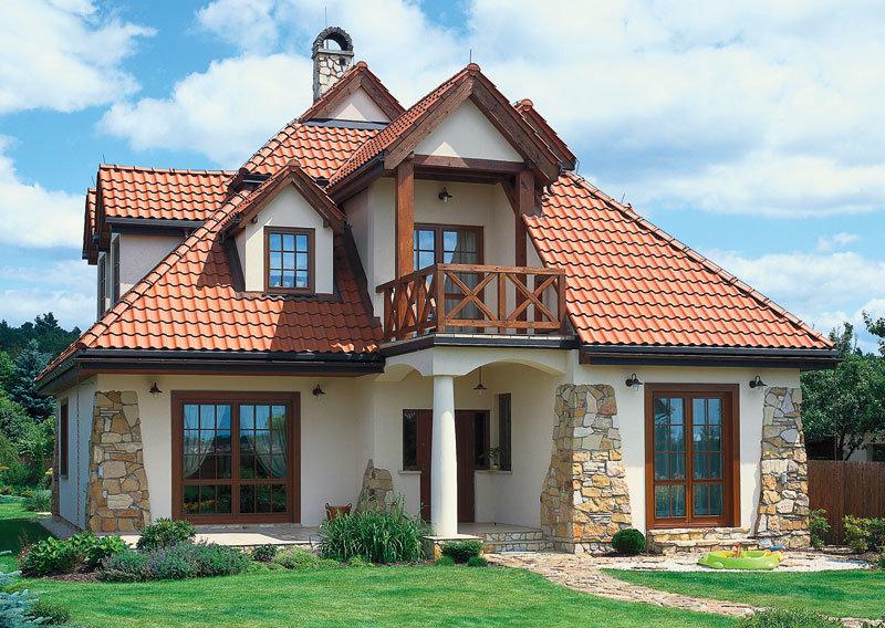 Дом с балконом - немного строим сами!.